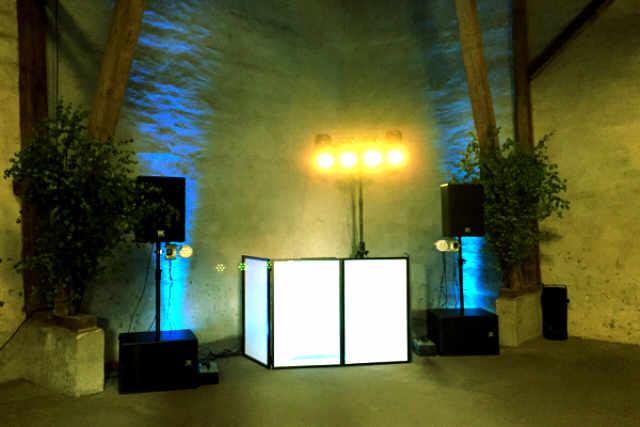 Ambiente Beleuchtung - Uplighting Licht