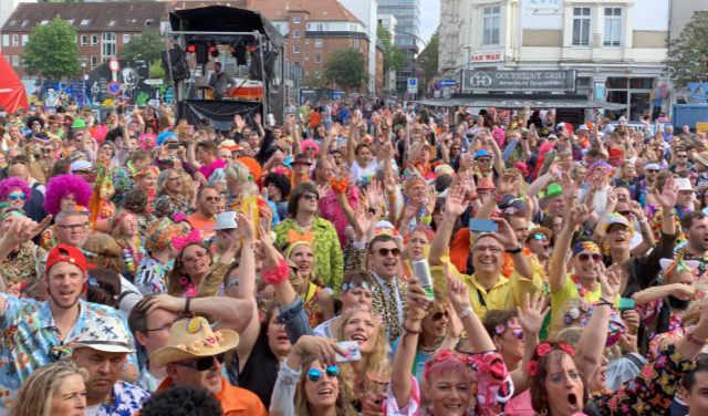 Schlager DJ auf dem Schlagermove 2019 in Hamburg