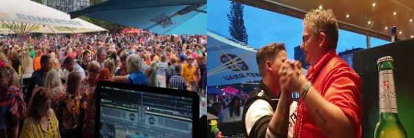 Schlager DJ Martin im Cowboy und Indianer mit DJ Martin zum Schlagermove