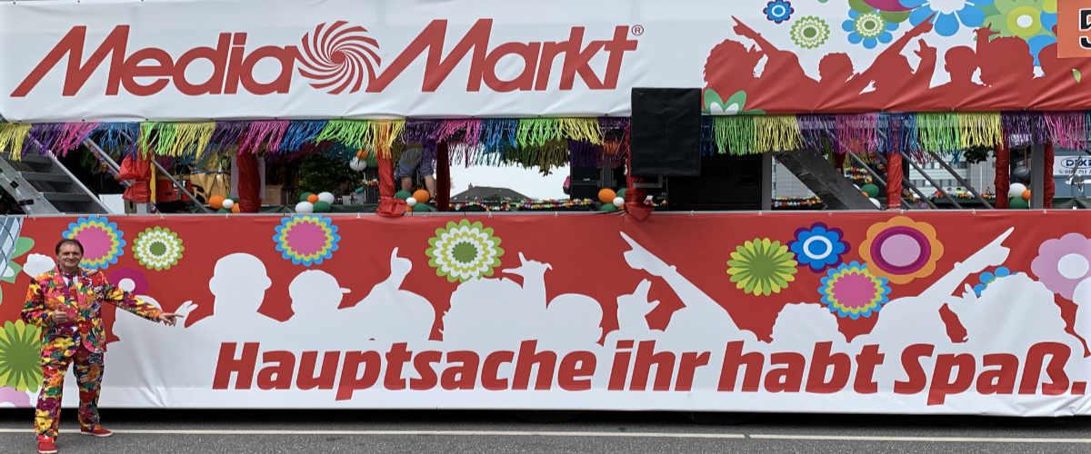Schlagermove Media Markt Truck