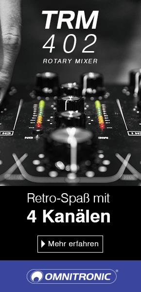 4-Kanal-Rotary-Mixer mit 3-Band-Frequenzisolator für DJs
