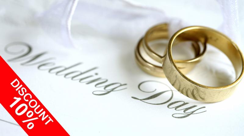 Discount pentru Nunta sau Botez