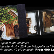 06Album Digital Nunta 15x20cm