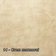 14 - Crem marmorat