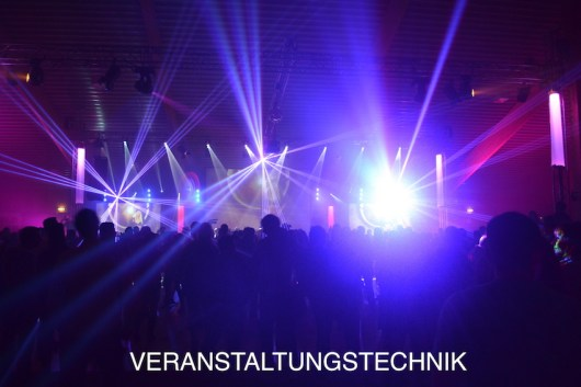 dj frankie b. Lichttechnik