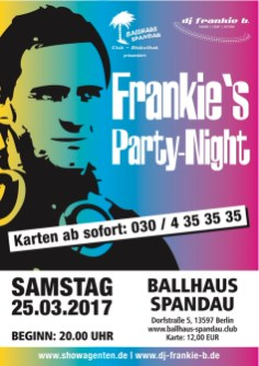 DJ frankie b. Party-Rückblicke
