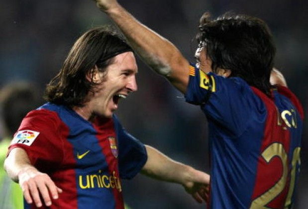 Deco Reveals How Lionel Messi Stunned FC Barcelona At First Training     Default