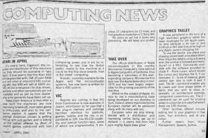 Computing News from E&MM April '83