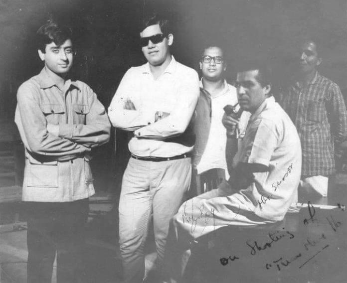 Flim star Nadeem and other at FDC studio, Dhaka(1967)