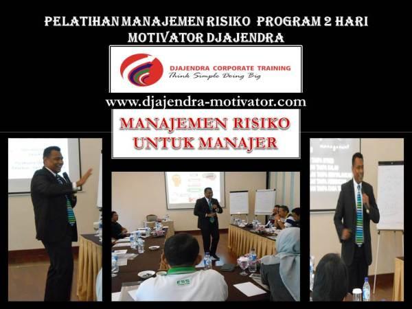 RISK MANAGEMENT FOR MANAGER