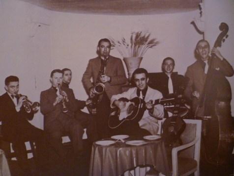 1947, Jean Storne dans l'orchestre de Noel Chiboust