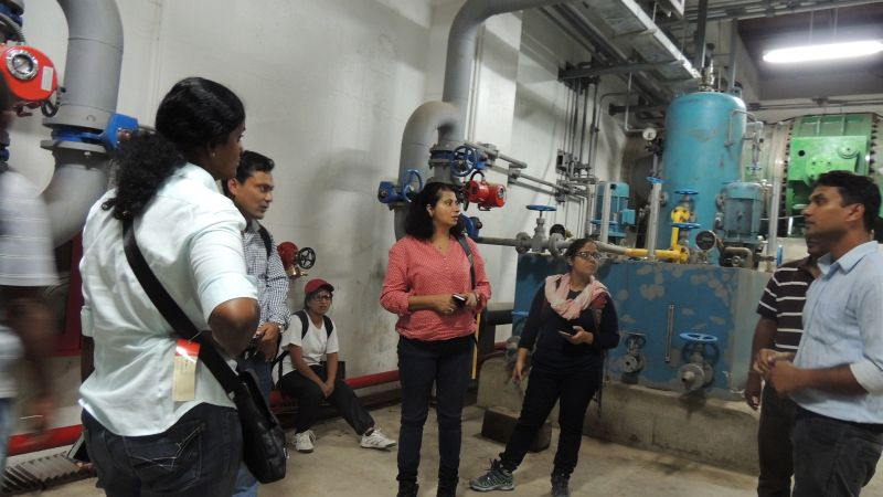 As part of gaining an understanding of the landscape of hydropower in Far West Nepal, IWMI staff and partners visit completed and currently being constructed hydropower plants.