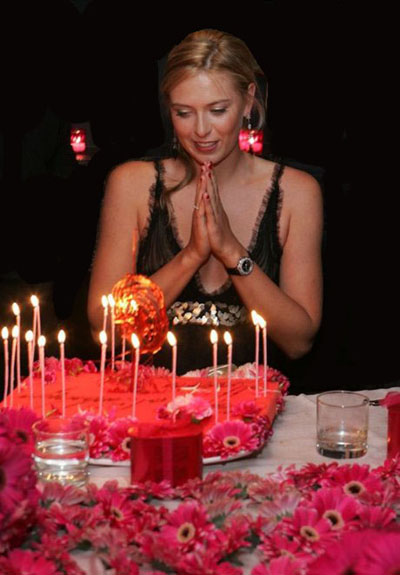 ***Maria Sharapova 19th birthday***