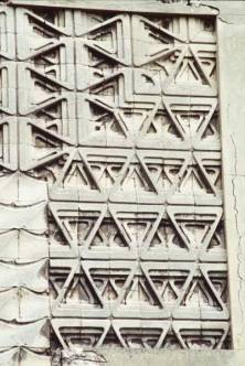 Detail of facades