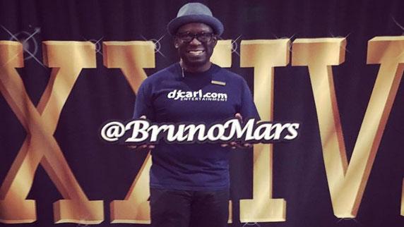 Bruno Mars and DJ Carl©
