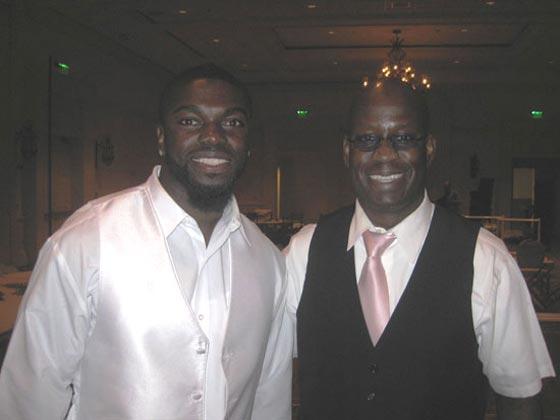 Former NFL Cornerback, Bryant McFadden and DJ Carl©