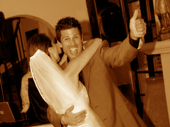 Casa Feliz wedding with Greg Vaughan