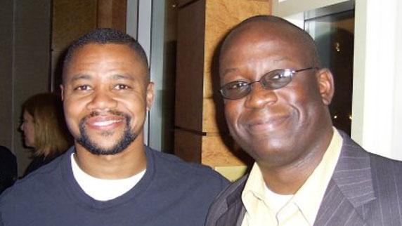 Cuba Gooding Jr. and DJ Carl©