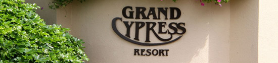 Grand Cypress Resort Orlando banner