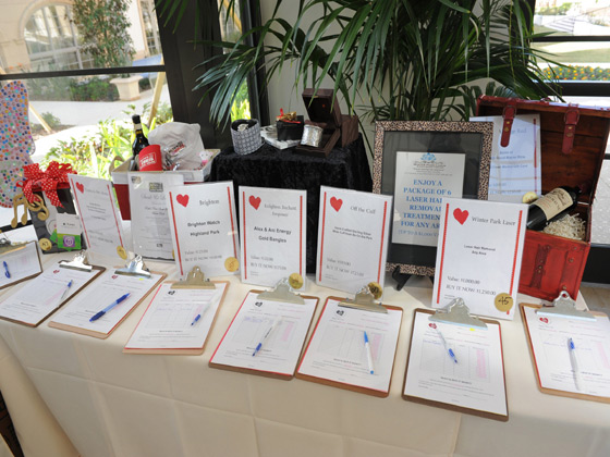 Heart of Fashion Silent Auction