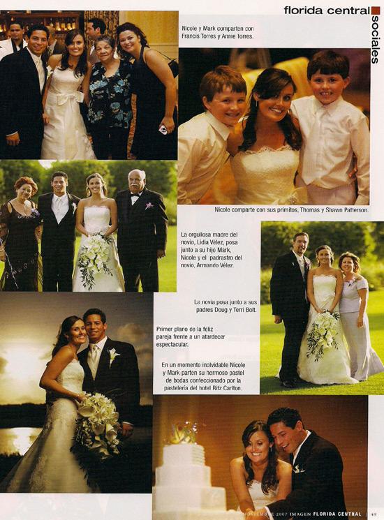 Imagen magazine - Nicole Bolt wedding