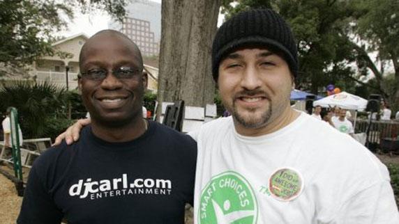 Joey Fatone and DJ Carl©