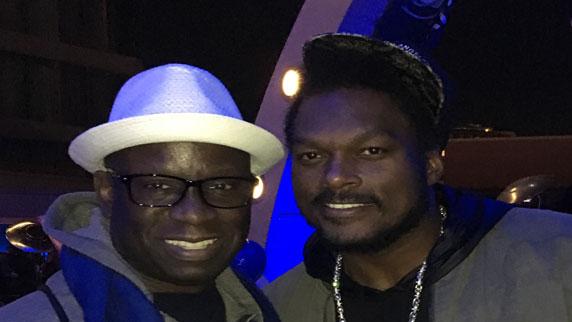 LaVar Arrington and DJ Carl©
