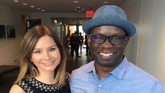 Rebecca Jarvis and DJ Carl©