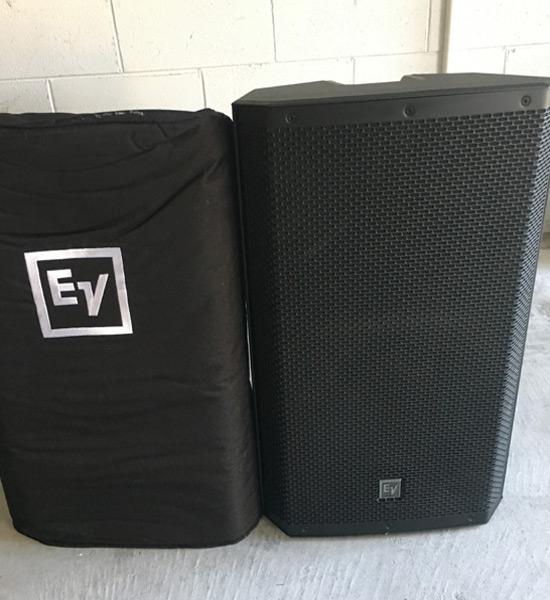Rent EV ZLX 15P Speakers in Orlando