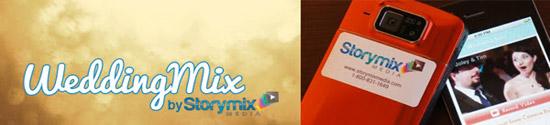 Storymix wedding banner