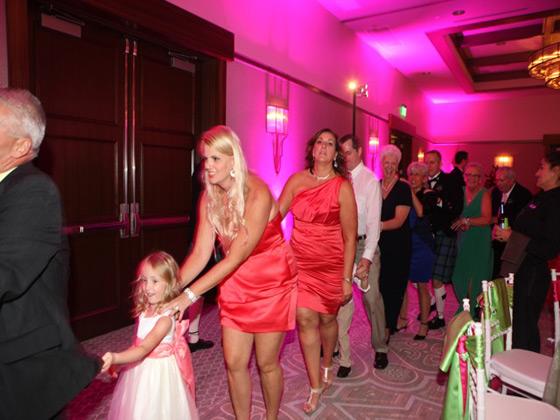 Wedding Conga Line