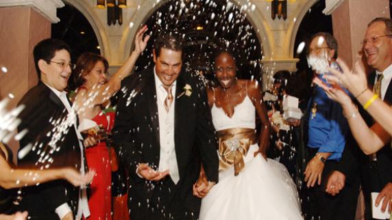 Whose Wedding Is It Anyway Orlando wedding send off