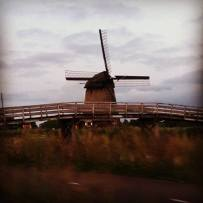 Old skool windmills are all the rage in Holland
