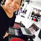DJing at Studio 450 Just Peace Summit 2016