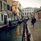 The DJ in Venice Italy 2014