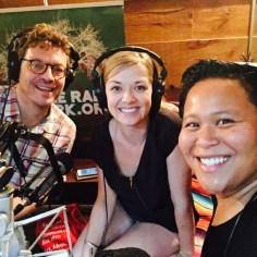 Primary Food, DJ CherishTheLuv and Sarah Thompson