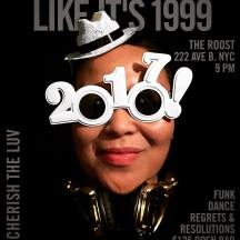 New Years Eve at THE ROOST 222 Ave B. NYC. Honoring musicians we lost this year 💔❤🎶  Prince, Bowie, George Michael, Glenn Frey, Sharon Jones, Leonard Cohen, Maurice White, Phife Dawg, Vanity, Pete Burns, Bernie Worrell... ❤