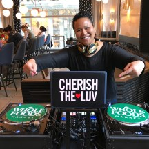 DJ CherishTheLuv is Whole Foods NYC's Resident DJ. Come and enjoy great food, drink and music at The Harbor Bar, every first Tuesday of every month at Bryant Park