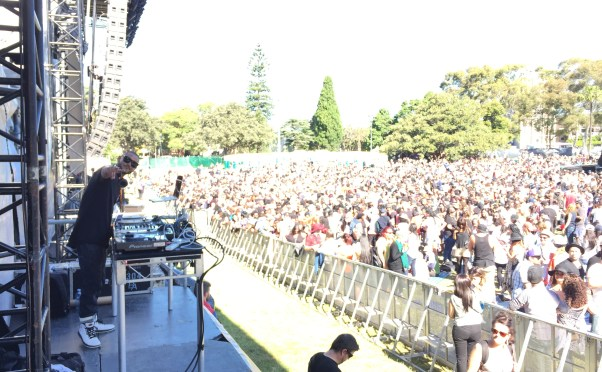 A DREAM COME TRUE:  DJING AT SOULFEST SYDNEY
