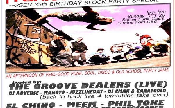 ★★ Soul of Sydney: 2SER Funk Fundraiser ★★SUNDAY OCTOBER 26 @ 1 PM