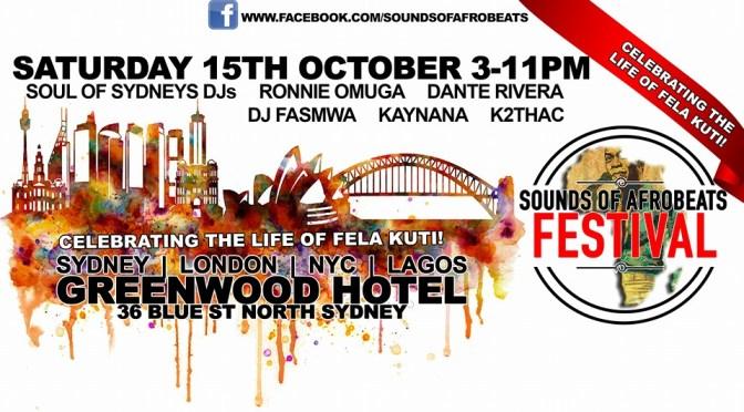 Sounds of Afrobeats Festival – Soul of Sydney DJs (DJ CMAN x Edseven)