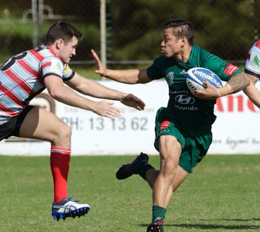 Strikers Rugby Signs Zach Pangelinan