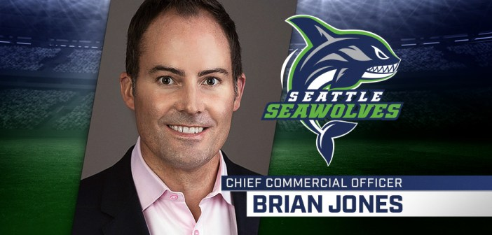 Brian Jones Seattle Seawolves Chief Commercial Officer