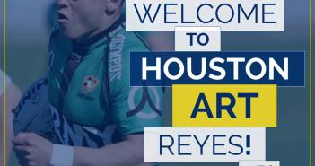 Strikers Rugby Signs Art Reyes