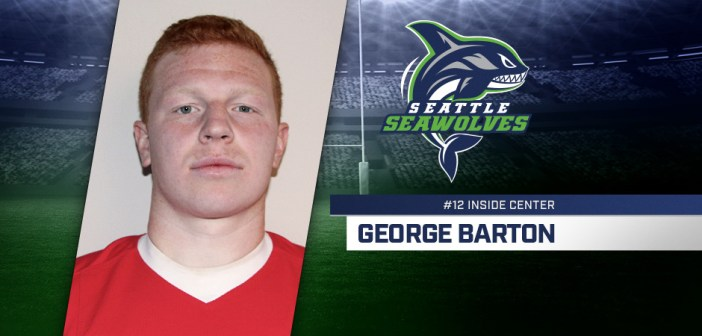 Seattle Seawolves Sign George Barton