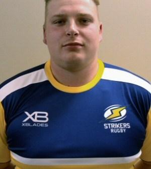 Strikers Rugby Signs Jack Riley