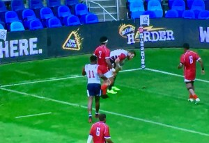 Eagles 7s Defeat Tonga as Tomasin Scores 4 Tries