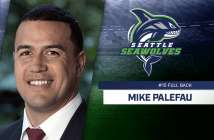Seattle Seawolves Sign Eagle Mike Palefau