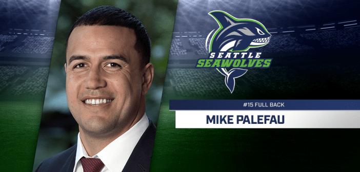 Seattle Seawolves Sign Eagle Mike Palefau