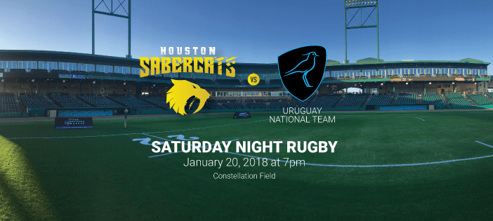 Houston SaberCats Face Uruguay National Team